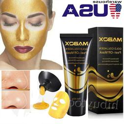 24K-Gold Collagen Whitening Anti-aging wrinkle Face Mask Dee