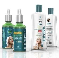 AHA BB CLEAR WHITENING SKIN BEAUTIFYING LOTION AND SERUM