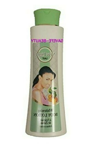 skin lightening body lotion with zaban extract