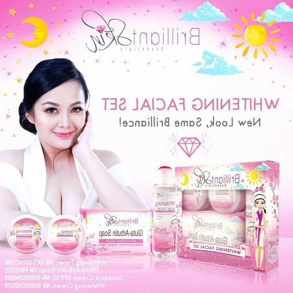 whitening set authentic fda approved
