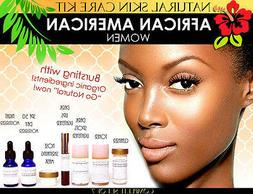 Natural Skin Care Kit for African American Black Women Skin