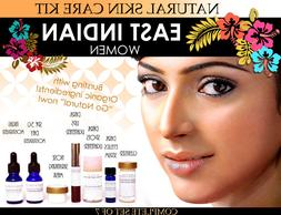 Natural Skin Care Kit for East Indian Women Features Lighten