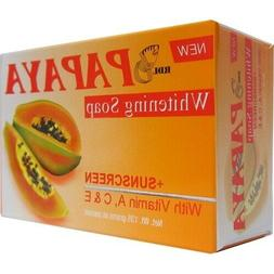 RDL Papaya Whitening Soap, sunscreen with A, E & C for prote