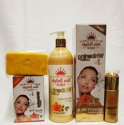 SKIN DELIGHT GOLD 7DAYS WHITENING LOTION BEAUTY MILK WITH CA