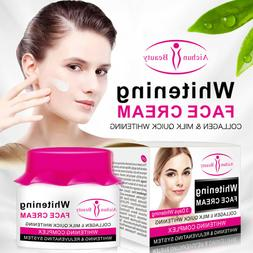 Aichun Beauty Whitening Face Cream Collagen Milk Quick Rejuv